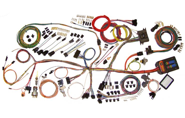 Classic Update Kit - 1962-67 Chevy Nova   American AutowireAmerican Autowire
