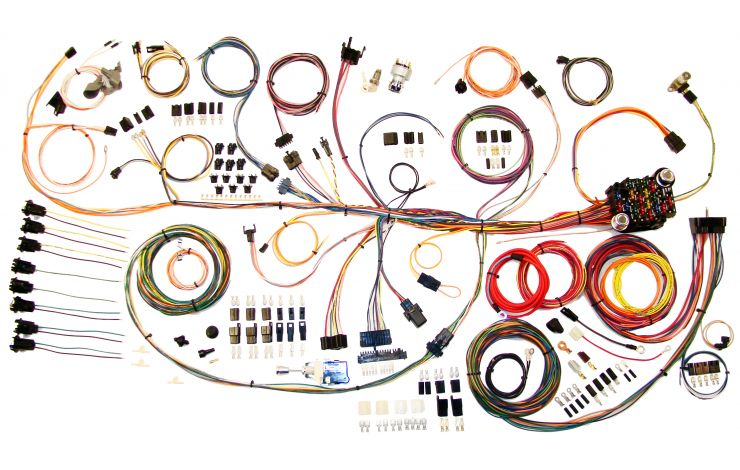 Classic Update Kit - 1964-67 Pontiac GTO   American AutowireAmerican Autowire