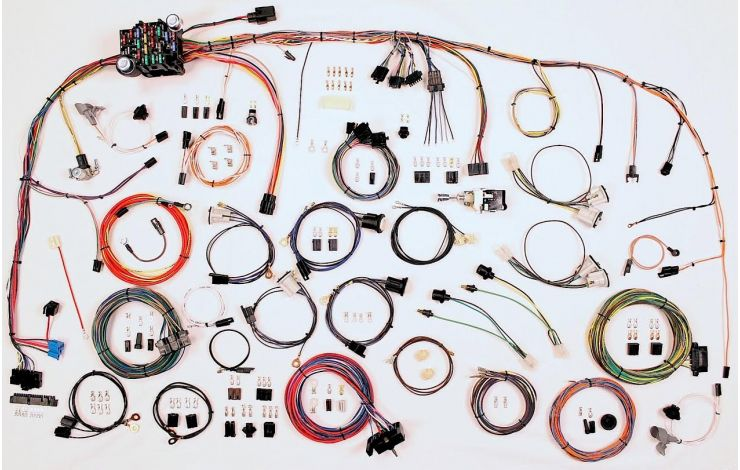 classic update kit - 1973-82 chevy truck | american autowire  american autowire