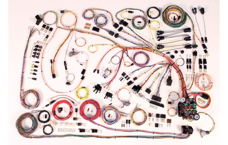 [SCHEMATICS_4HG]  Classic Update Kit - 1966-68 Chevy Impala | American Autowire | 1966 Impala Fuse Box |  | American Autowire