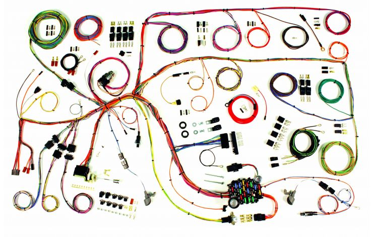 Classic Update Kit 1960 64 Ford Falcon 1960 65 Mercury Comet American Autowire
