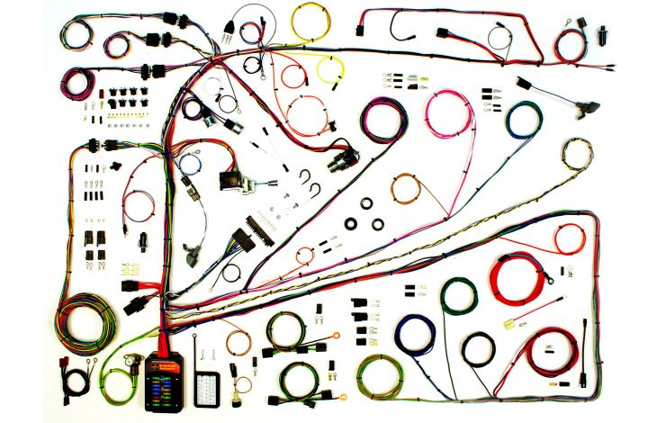 Classic Update Kit - 1962-65 Ford Fairlane & 1962-63 Mercury Meteor    American Autowire   Ford Fairlane Wiring Harness      American Autowire