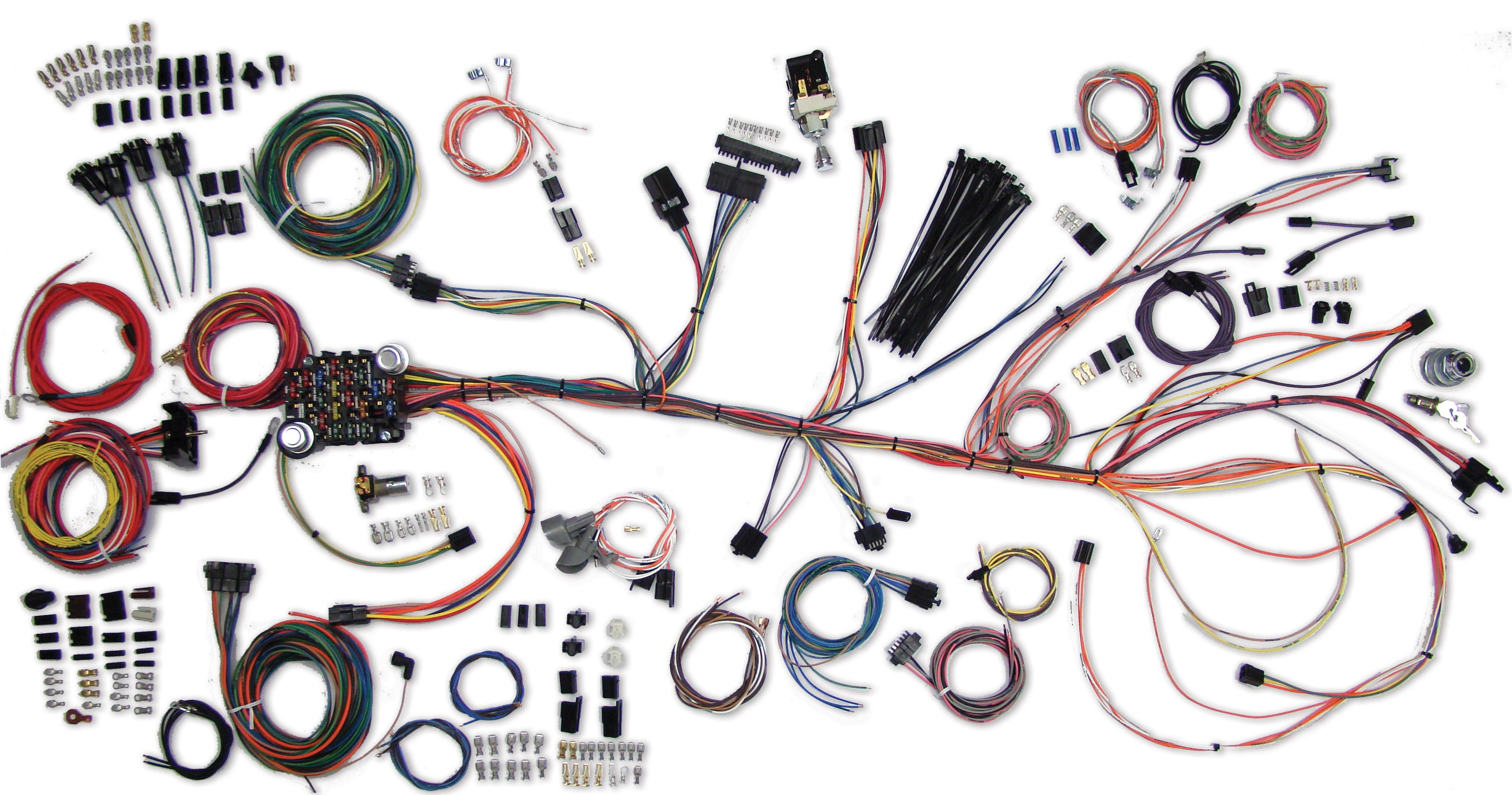 [DIAGRAM_4FR]  Classic Update Kit- 1964-67 Chevy Chevelle | American Autowire | 1966 Chevy Chevelle Fuse Box |  | American Autowire