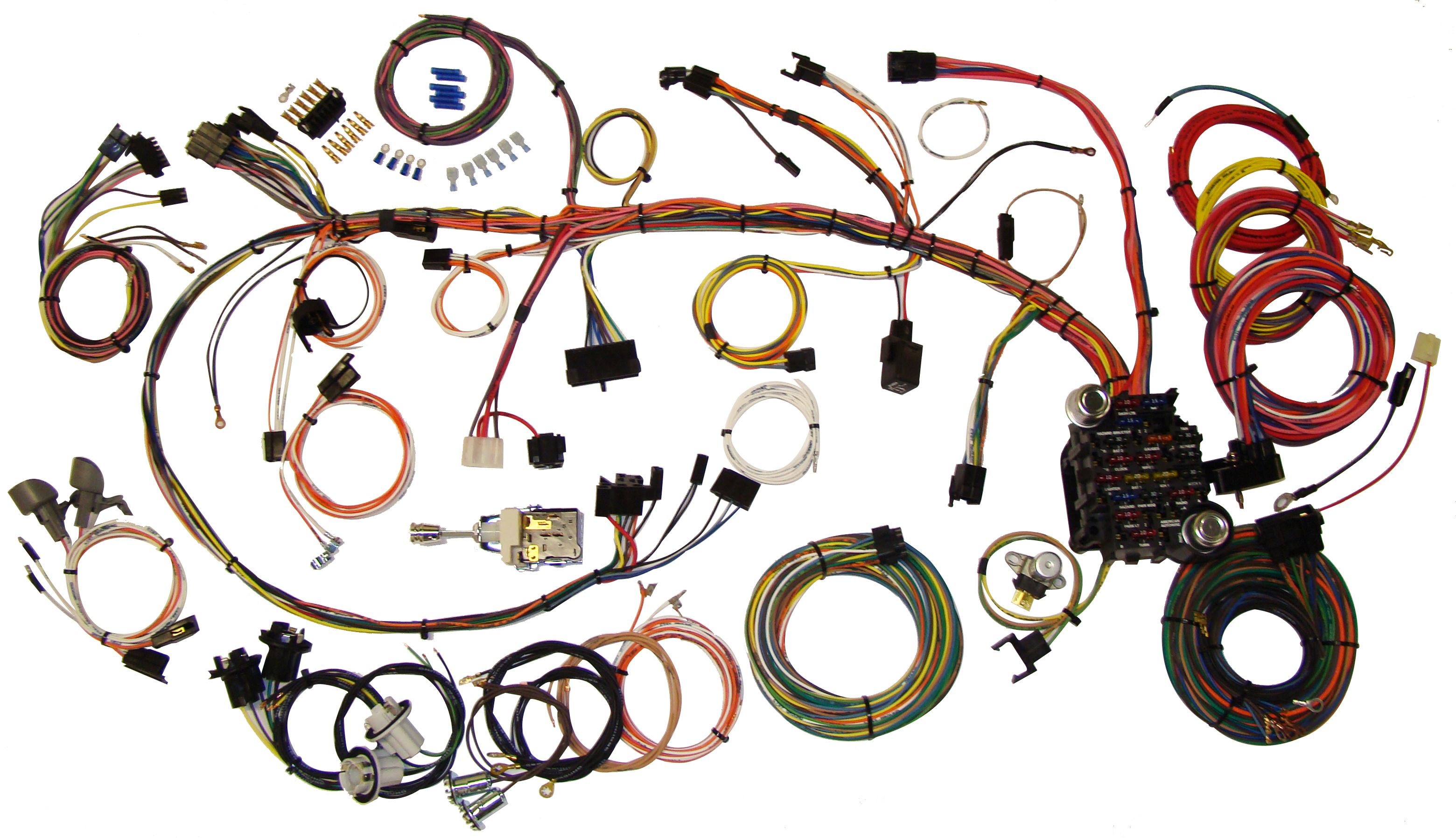 Classic Update Kit - 1970-73 Chevy Camaro   American AutowireAmerican Autowire