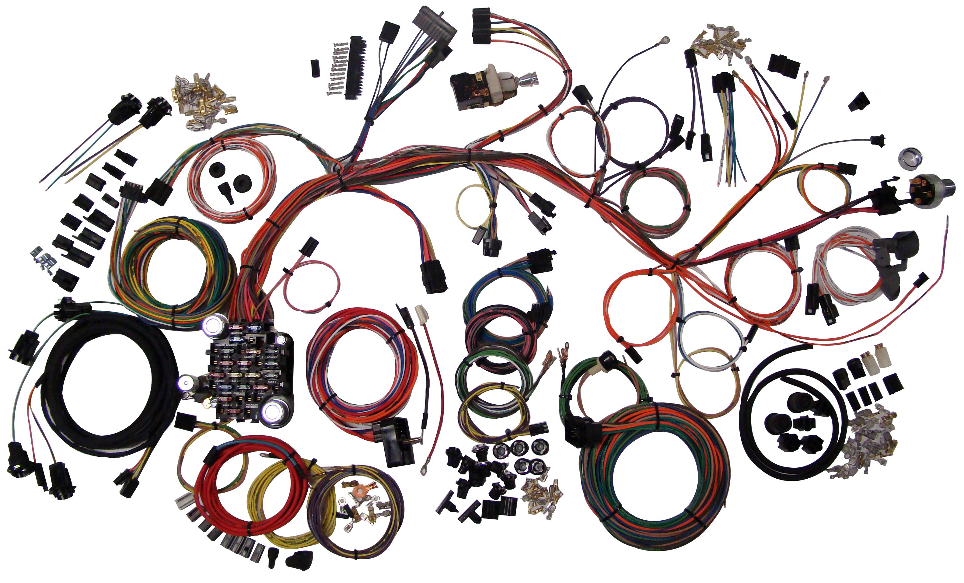 Classic Update Kit - 1961-64 Chevy Impala | American AutowireAmerican Autowire