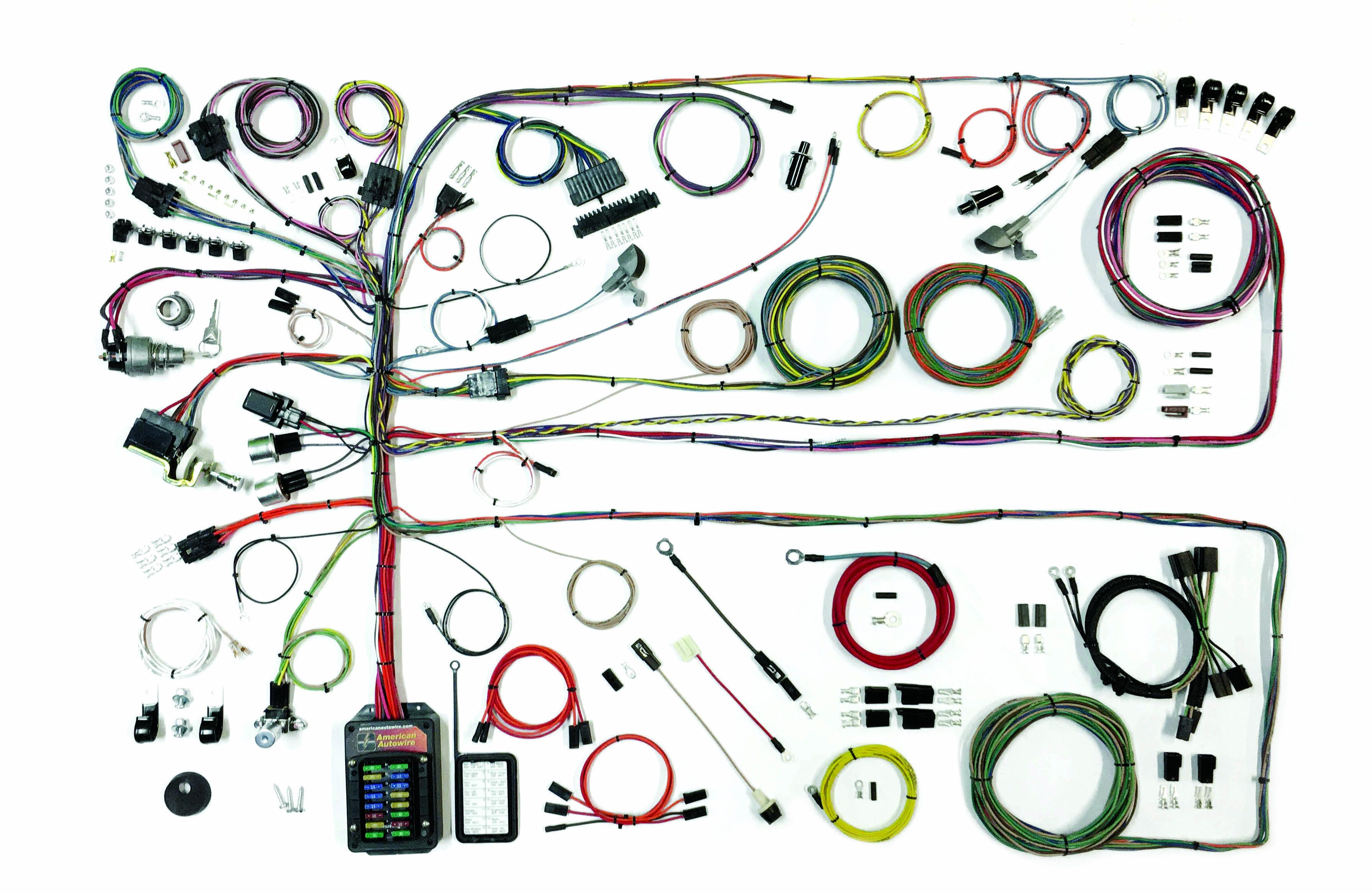 Classic Update Kit - 1957-60 Ford Truck | American AutowireAmerican Autowire