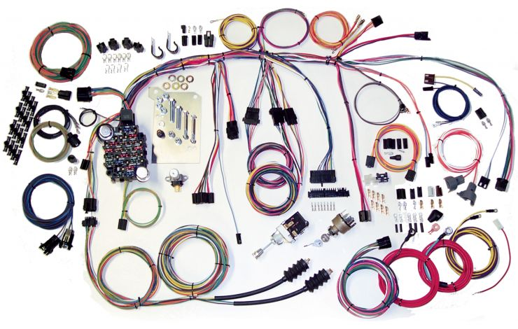 1962 c10 pickup wiring diagram classic update kit 1960 66 chevy truck american autowire  1960 66 chevy truck