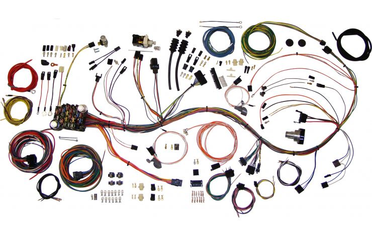 1970 chevy engine wiring harness classic update kit 1969 72 chevy truck american autowire  1969 72 chevy truck