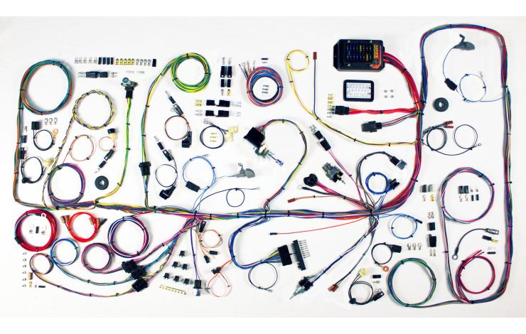 wiring diagram for 66 77 ford bronco classic update kit 1966 77 ford bronco american autowire  classic update kit 1966 77 ford