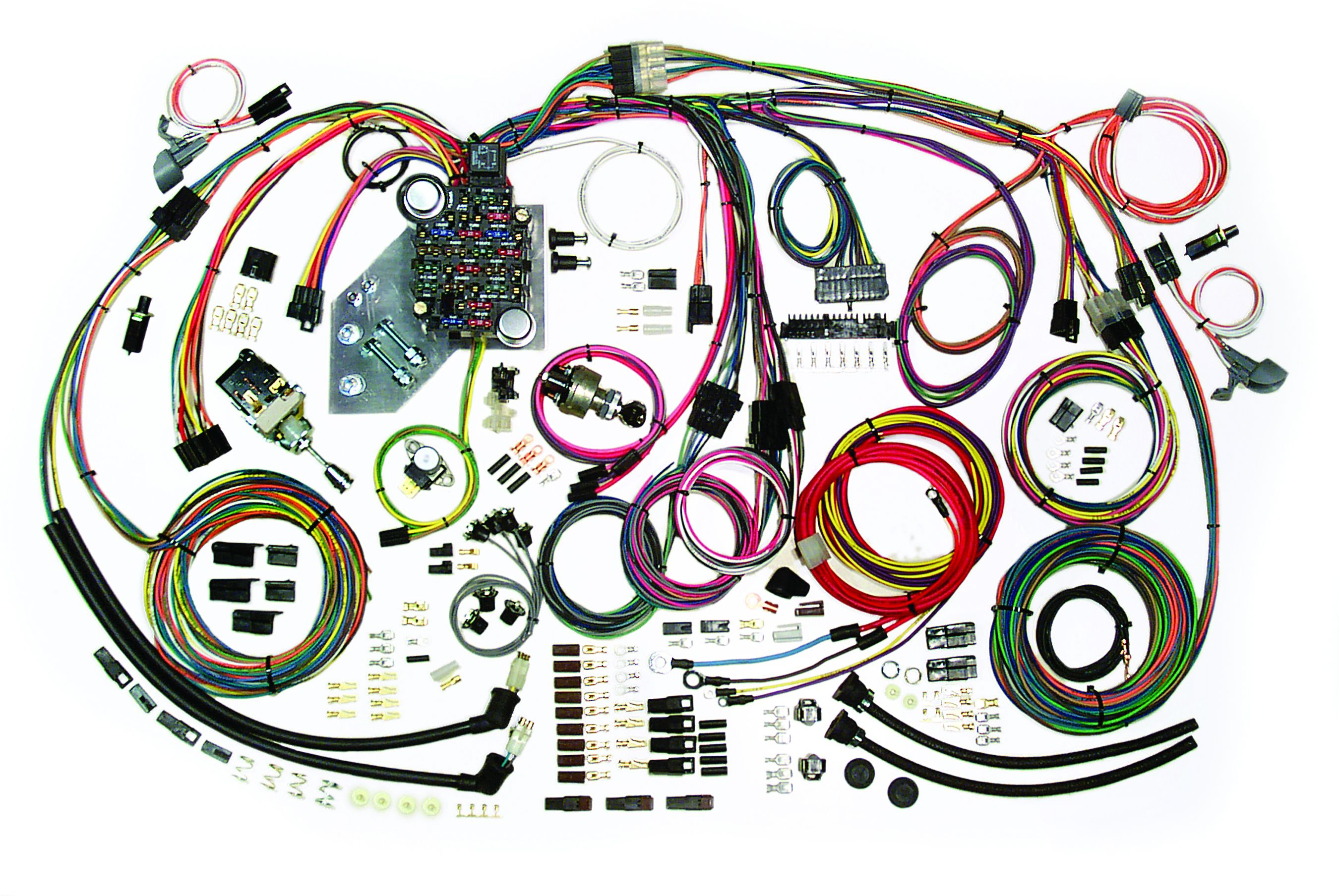 1948 chevy ignition switch wire diagram classic update kit 1947 55 chevy truck american autowire  1947 55 chevy truck