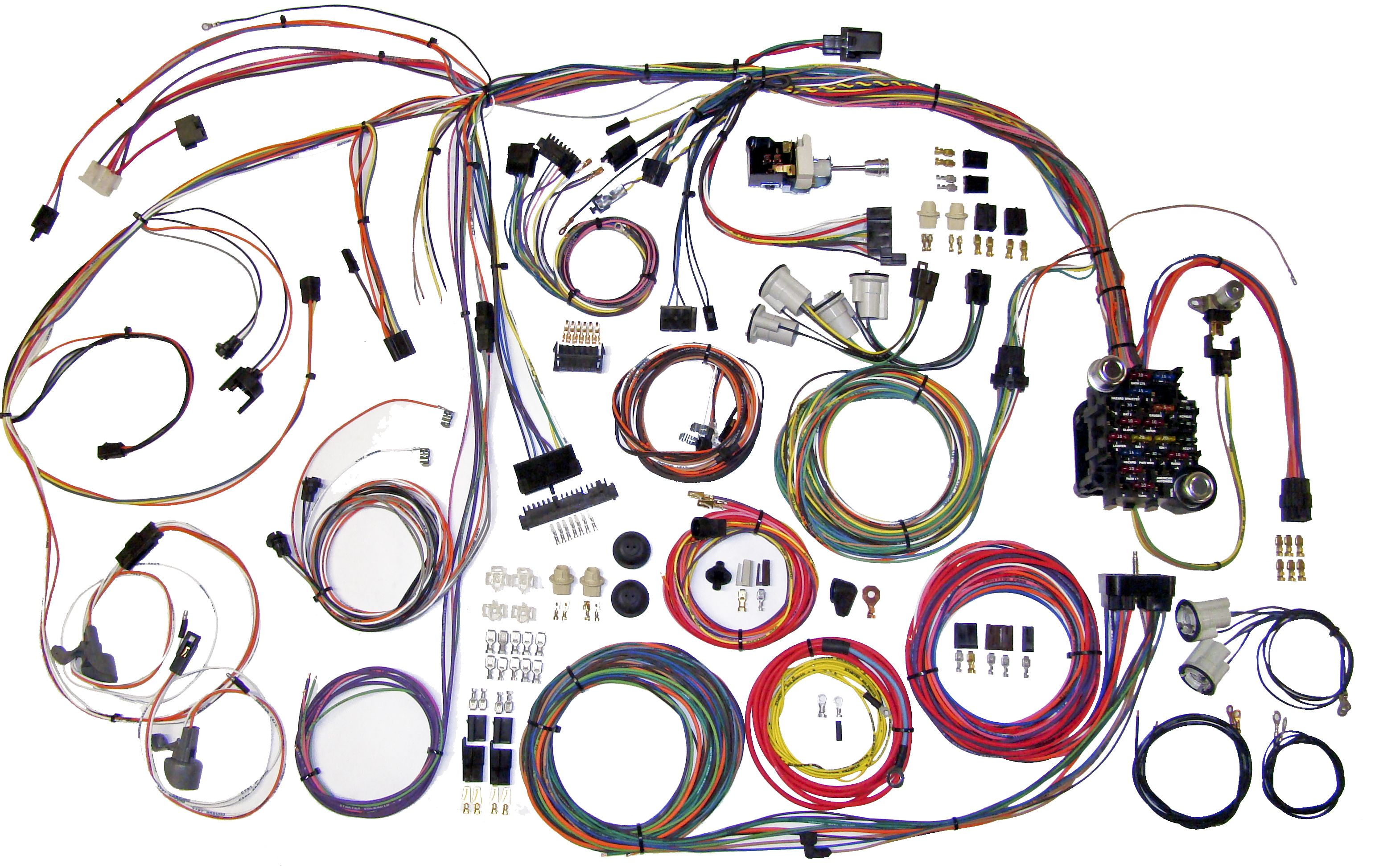 1971 chevelle wiring harness classic update kit 1970 72 chevy chevelle american autowire  1970 72 chevy chevelle